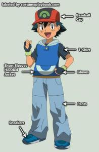 Pokemon - Ash - outfit - advanced generation