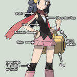 Dawn outfit - pokemon diamond pearl