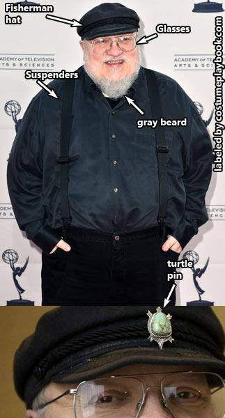 george r.r. martin costume game of thrones