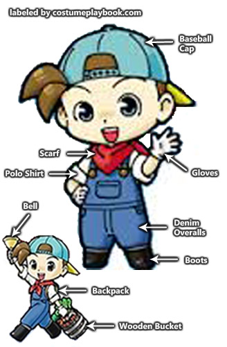 costume harvest moon farmer