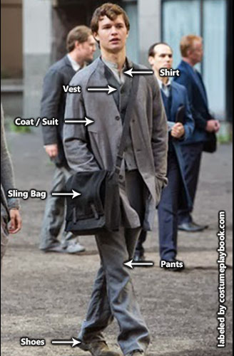 Abnegation Costume Caleb - Men