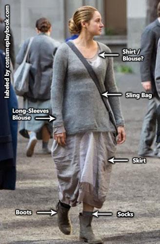 Abnegation Costume Tris - Women