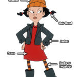 Disney Recess Spinelli Costume - Ashley Cartoon