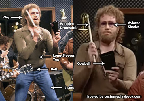 Will Ferrell Gene Frenkle Costume - Saturday Night Live Cowbell