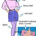 Costume Aja - Jem and Holograms