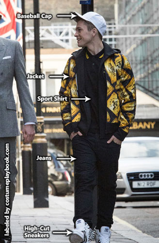 eggsy kingsman hiphop costume