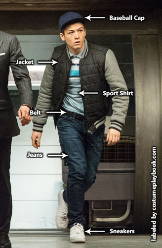 kingsman - eggsy casual costume