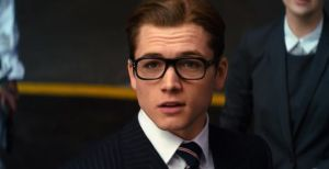eggsy kingsman - suit glasses