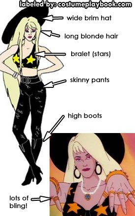 Minx Costume - Jem and Holograms - Stingers