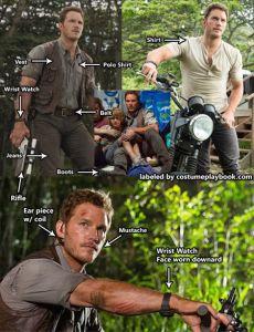 Owen Grady Jurassic World Costume Chris Pratt