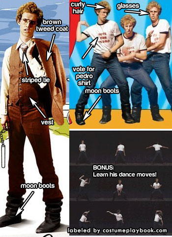 outfits of napoleon dynamite