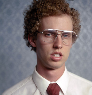 napoleon dynamite what glasses he wears