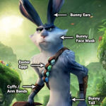 Easter Bunny cosplay - rise of guardians