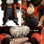 North Santa Claus costume - Rise of Guardians