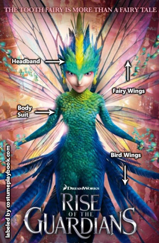 Tooth Fairy Cosplay - Rise of Guardians