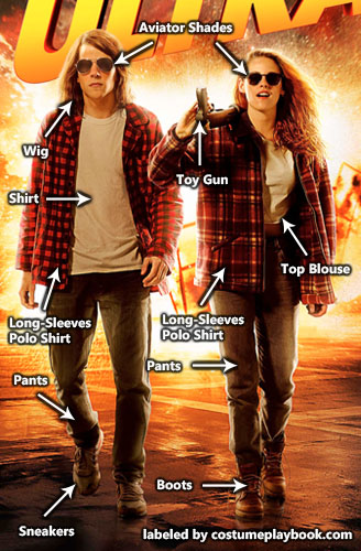 American Ultra Costume - Mike Howell Phoebe Larson