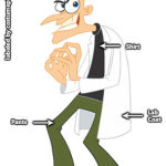 Dr. Heinz Doofenshmirtz Costume - Phineas and Ferb