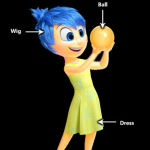 Inside out - Joy's Outfit Cosplay