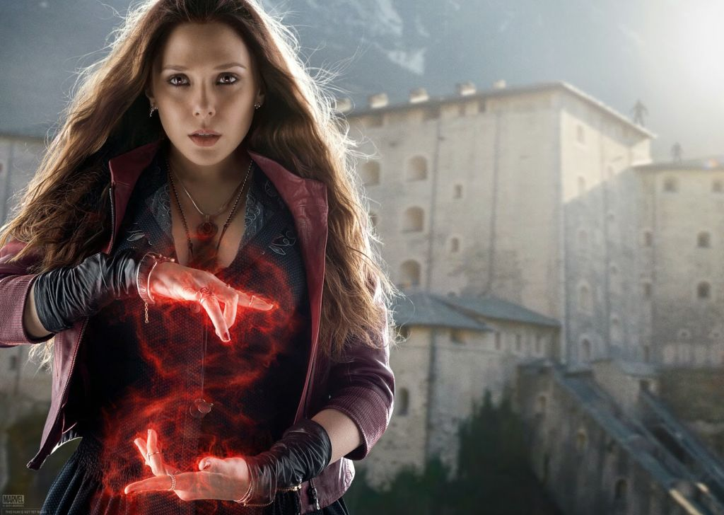 Scarlet Witch from Avengers: Age of Ultron