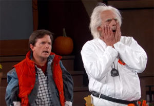 Doc and Marty McFly Year 2015 Jimmy Kimmel