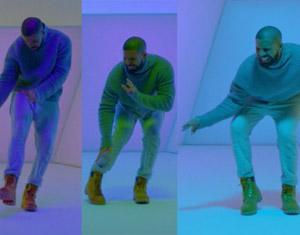 Drake - Hotling Bling MTV / Meme