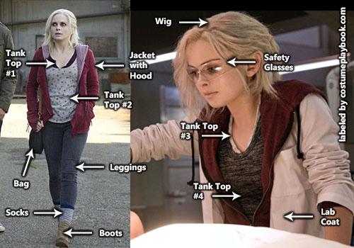 Liv Moore Costume Outfit Costume Playbook Cosplay Halloween