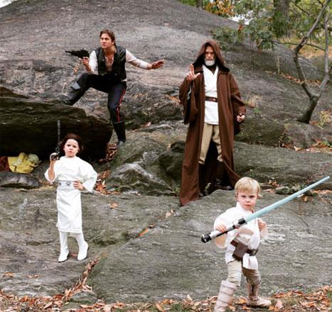 Neil Patrick Harris Star Wars Costume 2015 Obi Wan Kanobi