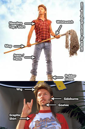 Joe Dirt Costume - David Spade