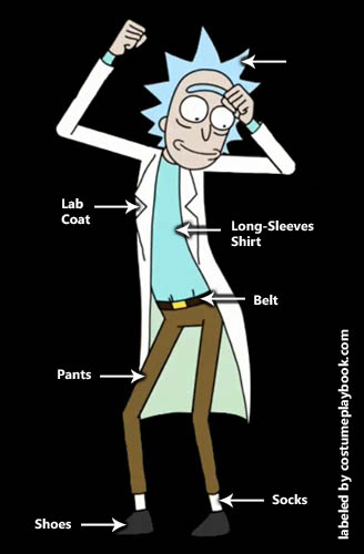 Rick and Morty - Rick Sanchez costume