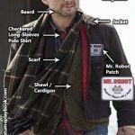 MrRobot costume Christian Slater
