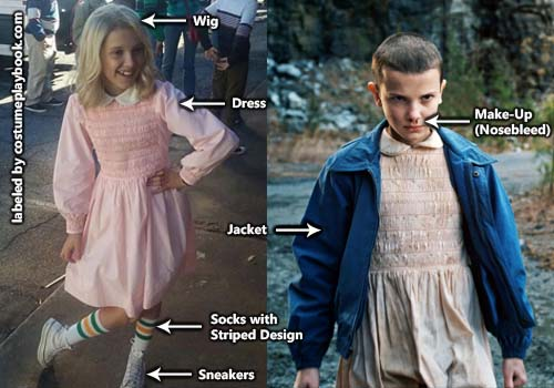 Stranger Things Eleven Costume Costume Playbook