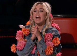 The Voice Judge - Miley Cyrus Costume