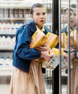 eleven stranger things waffles prop