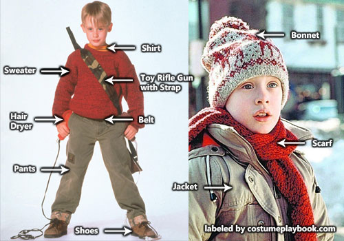 Home Alone Kevin Costume Costume Playbook Cosplay Halloween