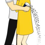 salt bae morton salt - couple costume idea