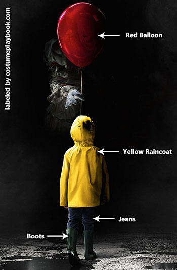 IT Movie - Raincoat Costume