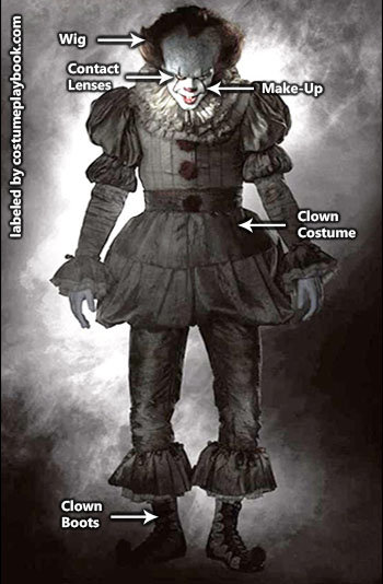 IT Movie - Pennywise 2017 Costume