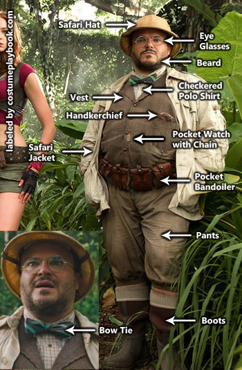 Shelly Oberon Costume - Jumanji 2017