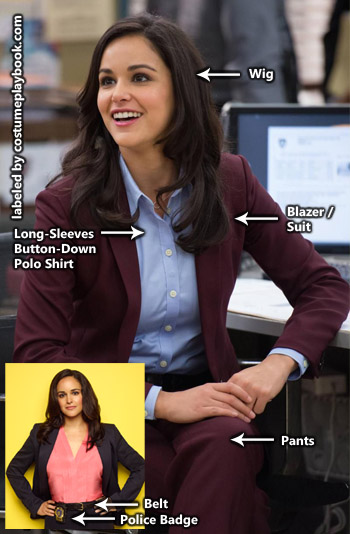 Dress up as Amy Santiago from Brooklyn Nine Nine