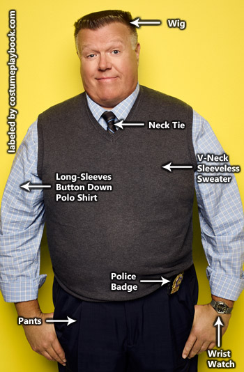 Norm Scully Costume - Brooklyn Nine Nine