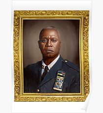 CAPTAIN HOLT OIL PAINTING