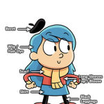 Hilda Costume - Netflix Cartoon