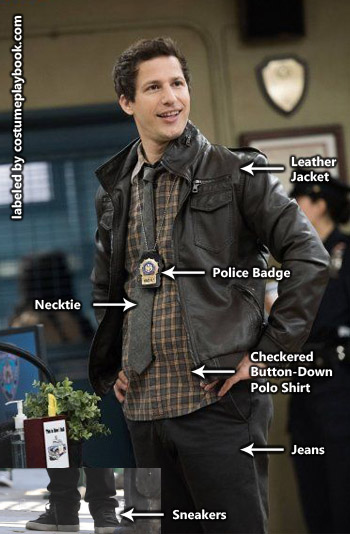 Jake Peralta Costume - Brooklyn Nine-Nine