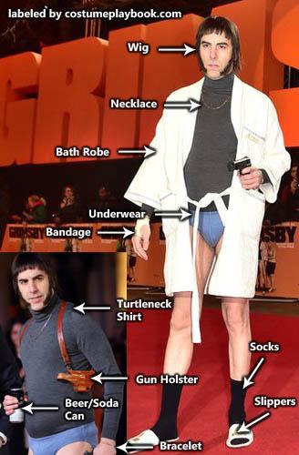 Costume Grimsby Sacha Baron Cohen