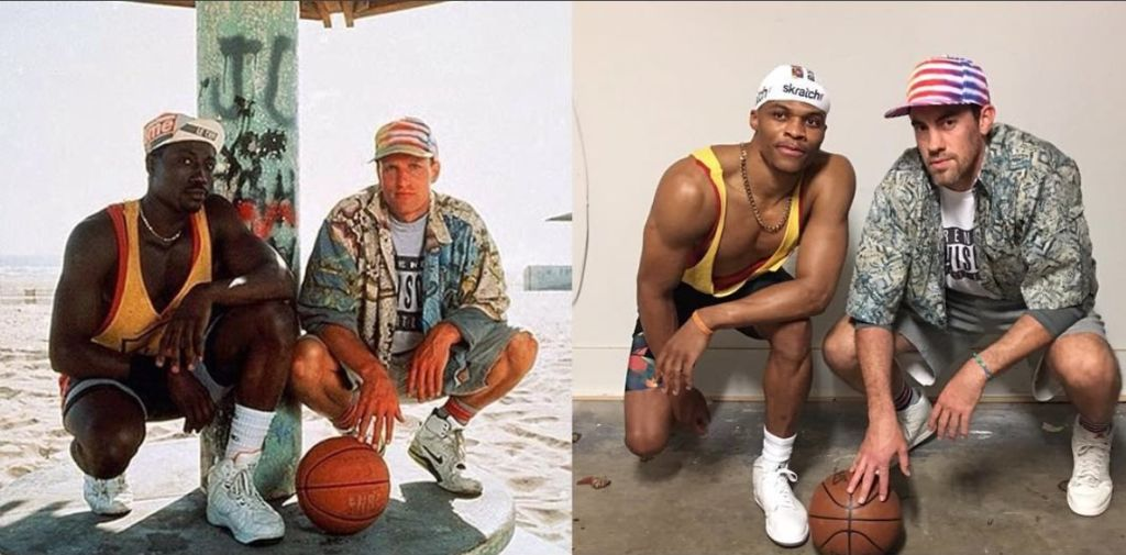 NBA Russell Westbrook Nick Collison (White Men Can't Jump Costume)