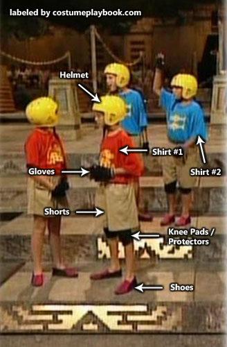 nickelodeon hidden temple Contestants costume
