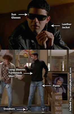 lucas empire records costume